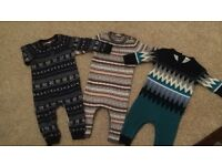 Next 9-12 months baby rompers