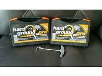 Hard ground pro, tent pegs