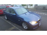 2008 BMW 320I M-SPORT E90 MANUAL, AUTO STOP/START 170 BHP ELECTRIC LEATHER SEATS