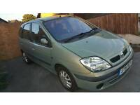 Renault scenic 1.4 16v expression. 2002 great condition for year and months mot