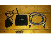 Smart TV box with movie streaming