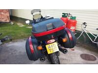 FULL GIVI PANNIERS PLUS SCREEN EXTENDER - MOTORCYCLE LUGGAGE SYSTEM