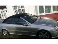 Stunning Automatic VERY LOW MILEAGE Mercedes CLK Convertible. 1 LADY OWNER ONLY. 39000 miles only.