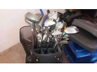 GOLF CLUBS more than 1 set and a bag
