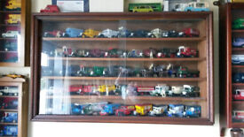 Lledo Days Gone Model Vans, etc - Large collection with display cases