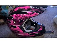 moto x helmet brand new moto cross