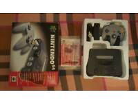 Boxed N64 console & accessories