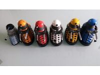 Doctor Who Action Figures - 6 Daleks