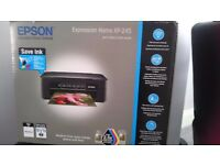 EPSON Expression Home XP-245! Wireless printer. In box