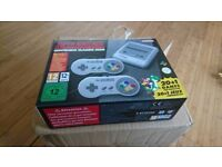 Super Nintendo Classic Mini - SNES - Brand NEW (never used or opened) - available NOW!