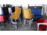 barstools, stools, high chairs, bar chairs, hotel, kitchen luxury furniture