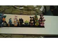 Lego mini figures Disney