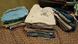 Big bundle boys clothes age 12-18 months