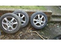 Ford alloys and tyre