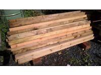 short timber battens