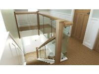 Glass Stairs, Glass Balustrade, Glass stair panels, new stairs