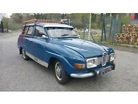 very rare 1974 saab 95 v4 seven seater estate