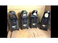 2 ADJ inno rolls and 2 ADJ scans LED lights 50 W - Lots of patterns