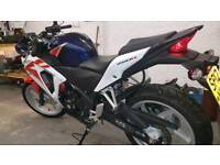 Honda cbr 250r 1400 miles one previous owner
