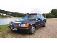 MERCEDES BENZ 190D - W201 - 2.5 DIESEL - 5 CYLINDER - LEFT HAND DRIVE - LHD - 1986