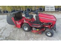 Westwood ride on lawnmower, brush collector, hydro