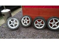 Toyota celica alloy and tyres