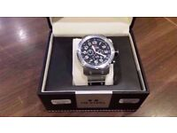 TW Steel TW127 48mm Tech Chronograph Gents Sports Watch - Boxed.
