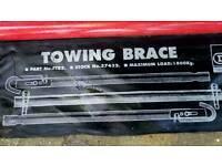 Draper rigid towing brace