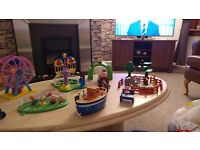 Various Peppa pig and farm animals toys