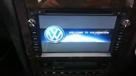 Vw car stero sat nav wifi swap for best phone