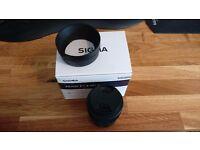 Sigma 30mm f1.4 DC DN C Lens (Sony NEX E Mount)