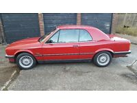 e30 bmw 325i convertable manual owened 18 yrs now