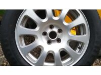 Jaguar XJR Spare Wheel and Tyre