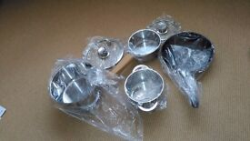 Bosch Z9442X0 Induction Hob Pots and Pans set