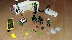Playmobil Top Agents Robo Gangster Lab 4880