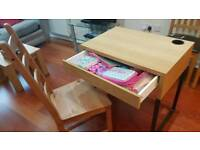 Bargain Desk and Table excellent condition