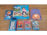 Vtech v.smile dance and learn plus games etc