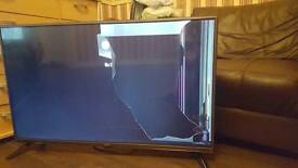 LG 42 inch tv with damage on LCD selling for spares