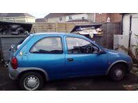 Corsa. Great little car. Blue 3door