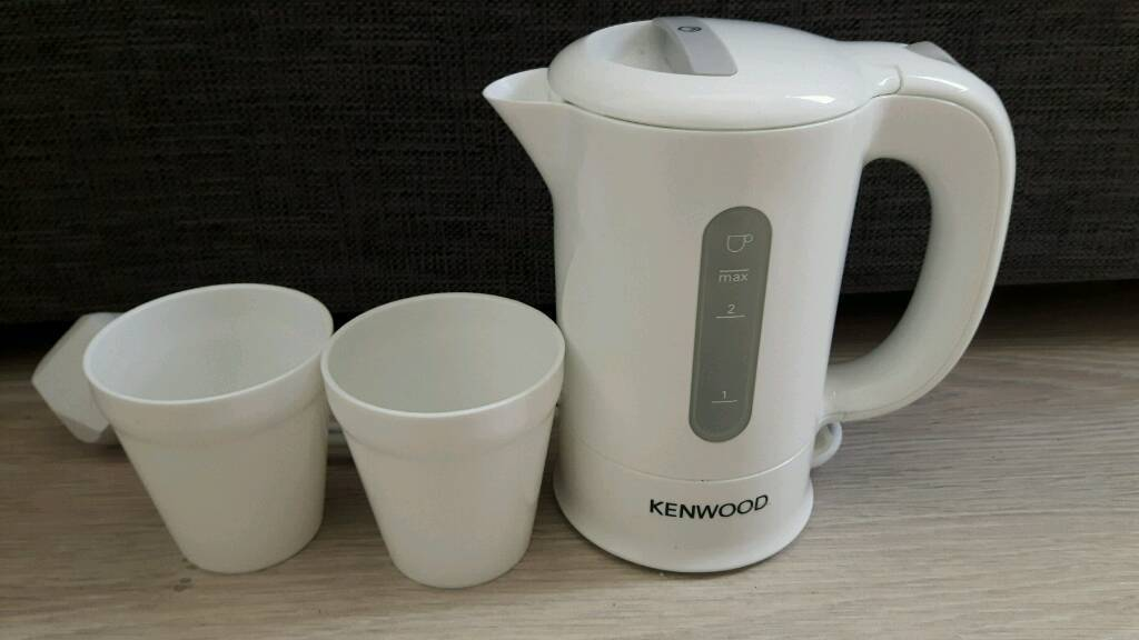 Kenwood Travel Kettle with 2 Cupsin Derby, DerbyshireGumtree - Kenwood Travel Kettle with 2 Cups In Excellent condition and working