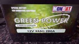 New Ride on mower battery