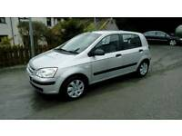 04 Hyundai Getz 5 Door Full Mot Nov 18 only 74000 Mls Low Ins ( can be viewed inside anytime