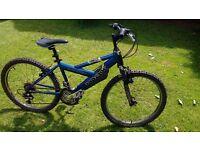 "Raleigh Max Badmax boys mountain bike 24"" wheels. 18 gears"
