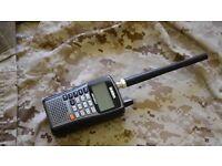 Uniden UBC125XLT 500 channel handheld scanner for sale