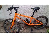 Kids Frog hybrid 8 gear 20 inch bike