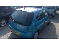 Vauxhall Corsa Design 1000cc 105miles 2003-53-plate