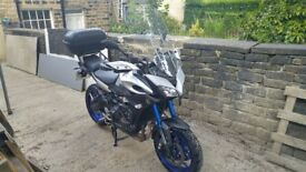 2015 Yamaha Tracer 900 Akrapovic Exhaust/ Givi Engine bars/ Heated Grips/ Michelin Pilot Road 4