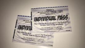 2 M&D's tickets