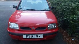 1996 NISSAN MICRA - AUTOMATIC - RED