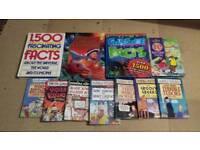 Childrens factual books.